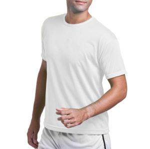camiseta de helanca