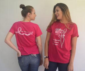 modelo de camiseta da Disque Camisetas para a Rede Feminina